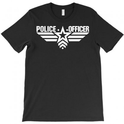 Police Officer T-shirt Designed By Silicaexil