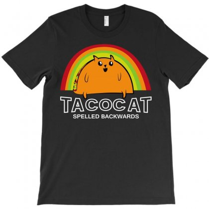 Taco Cat Spelled Backwards T-shirt Designed By Silicaexil