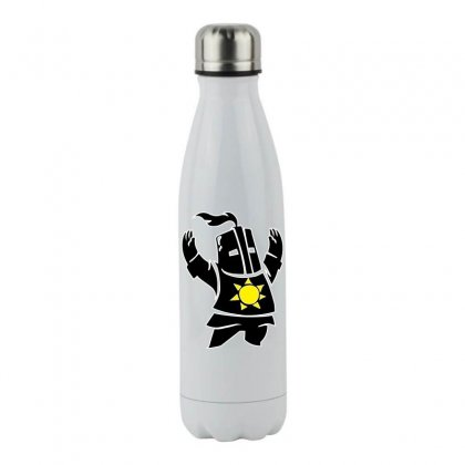 Dark Souls Solaire Stainless Steel Water Bottle Designed By Hbk