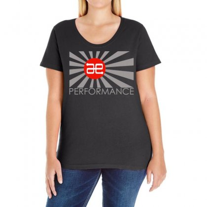 Always Evolving Performance Ladies Curvy T-shirt Designed By Frizidan