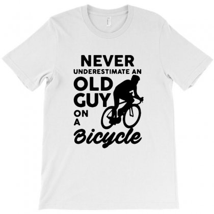 Never Underestimate Old Guy T-shirt Designed By Tee Shop