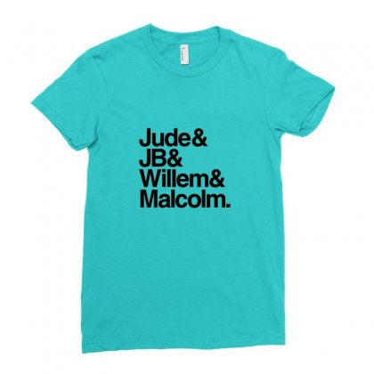 Jude Jb Willem Malcolm Merch Ladies Fitted T-shirt Designed By Arum