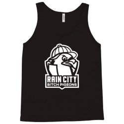 rain city bitch pigeons Tank Top | Artistshot
