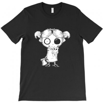 Zombie Girl T-shirt Designed By Tee Shop