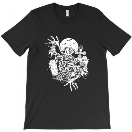 Zombie T-shirt Designed By Tee Shop