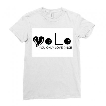 Yolovo Ladies Fitted T-shirt Designed By Blaccday