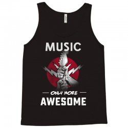 music only more Awesome Tank Top | Artistshot