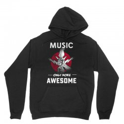 music only more Awesome Unisex Hoodie | Artistshot