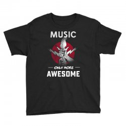 music only more Awesome Youth Tee | Artistshot