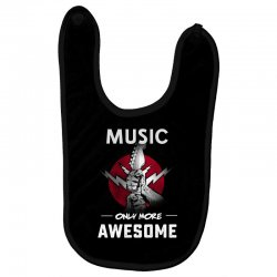 music only more Awesome Baby Bibs | Artistshot