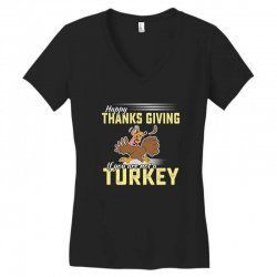 Holiday thanksgiving Turkey Women's V-Neck T-Shirt | Artistshot