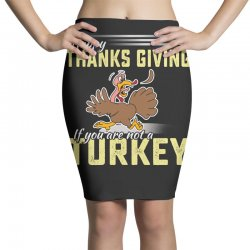 Holiday thanksgiving Turkey Pencil Skirts | Artistshot