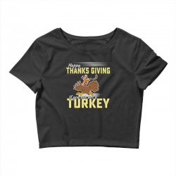 Holiday thanksgiving Turkey Crop Top | Artistshot