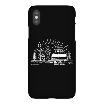 Camp Vibes (for Dark) Iphonex Case Designed By Quilimo