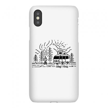 Camp Vibes (for Light) Iphonex Case Designed By Quilimo