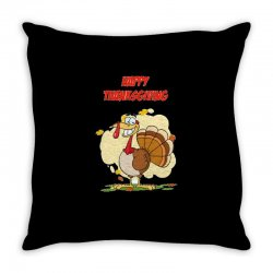 Thanksgiving Holiday Throw Pillow Designed By Cogentprint