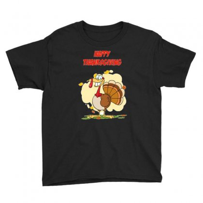 Thanksgiving Holiday Youth Tee Designed By Cogentprint
