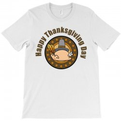 Happy Thanksgivings Day T-shirt Designed By Cogentprint