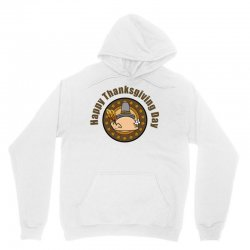 Happy Thanksgivings Day Unisex Hoodie Designed By Cogentprint