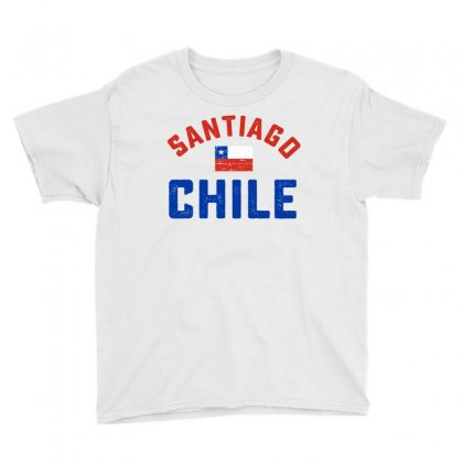 Chilean Flag Tee Youth Tee Designed By Cogentprint