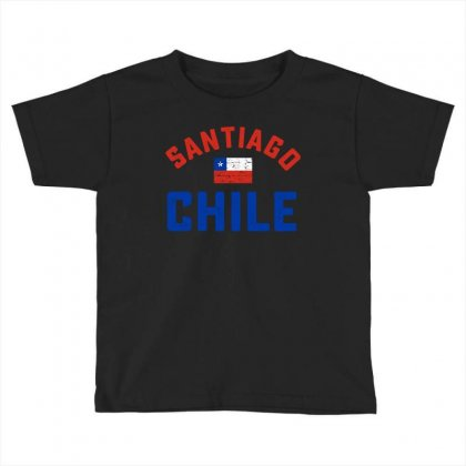 Chilean Flag Tee Toddler T-shirt Designed By Cogentprint