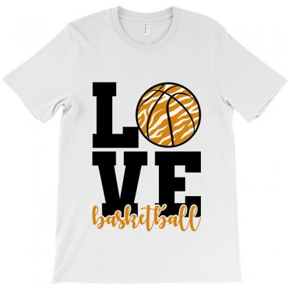 Love Basketball T-shirt Designed By Nurbetulk