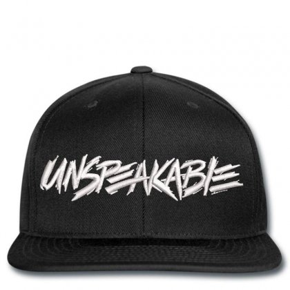 Unspeakable Gaming Snapback Designed By Madhatter