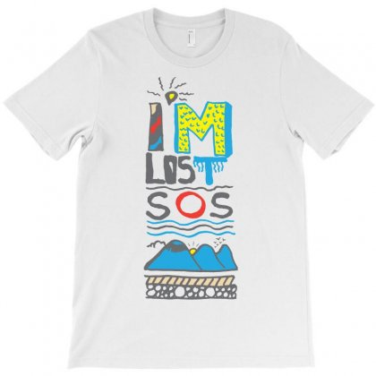 Sos I Am Lost T-shirt Designed By Lorex-ads