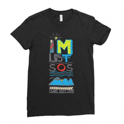 Sos I Am Lost Ladies Fitted T-shirt Designed By Lorex-ads