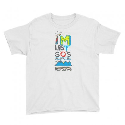 Sos I Am Lost Youth Tee Designed By Lorex-ads