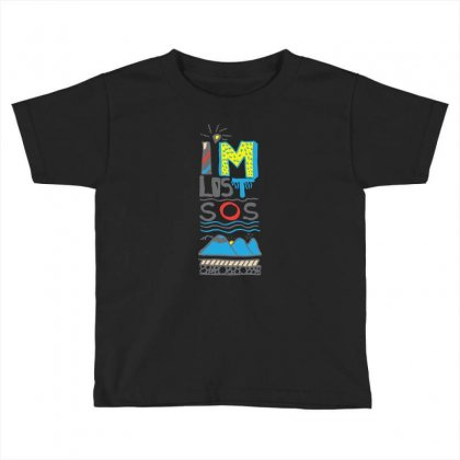 Sos I Am Lost Toddler T-shirt Designed By Lorex-ads