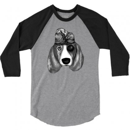 Balinese Dog 3/4 Sleeve Shirt Designed By Lorex-ads