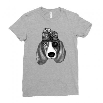 Balinese Dog Ladies Fitted T-shirt Designed By Lorex-ads