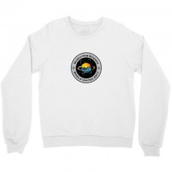 march for science astronaut Crewneck Sweatshirt | Artistshot