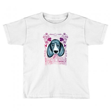 Sad Dog Toddler T-shirt Designed By Lorex-ads