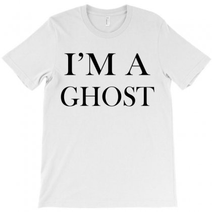 I'm A Ghost T-shirt Designed By Ujang Atkinson