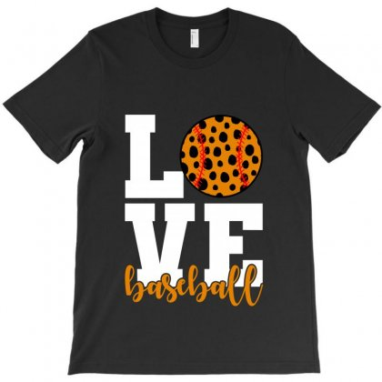 Love Baseball For Dark T-shirt Designed By Nurbetulk