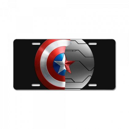 Captain America And The Winter Soldier License Plate