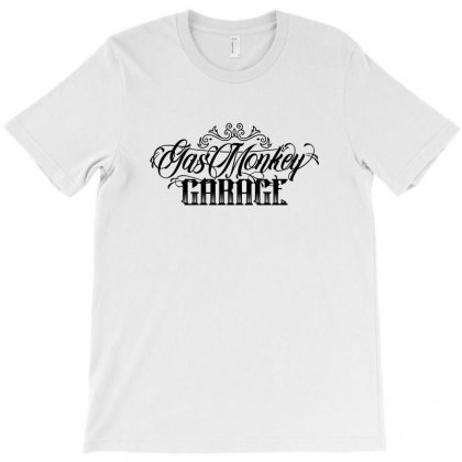Gas Monkey Plate T-shirt Designed By Tiococacola