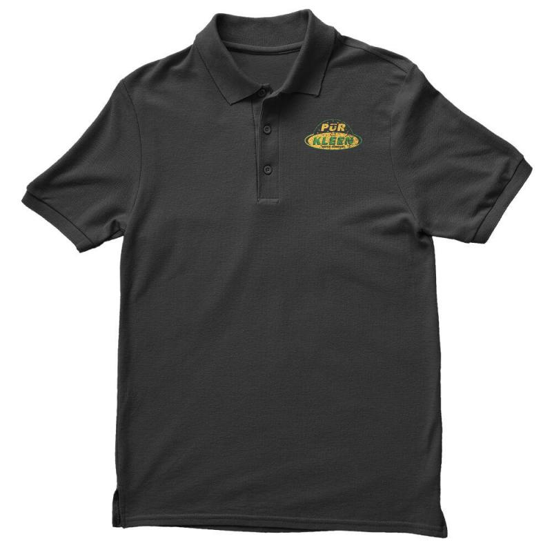 Pur & Kleen Water Company Men's Polo Shirt | Artistshot