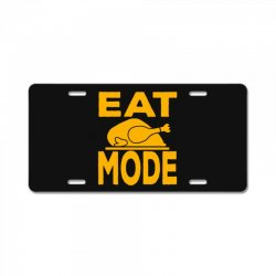 eat mode License Plate | Artistshot