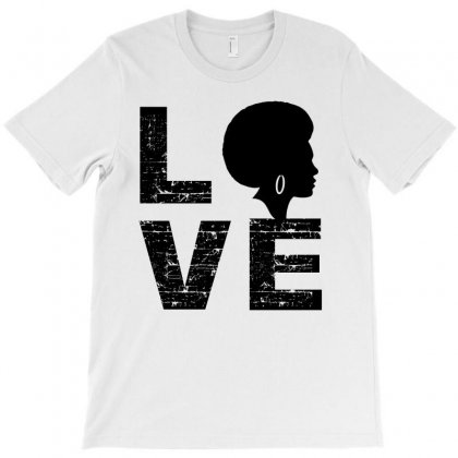 Love  Melanin Magic Black Woman T-shirt Designed By Cogentprint