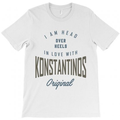 Is Your Name,  Konstantinos. This Shirt Is For You! T-shirt Designed By Chris Ceconello
