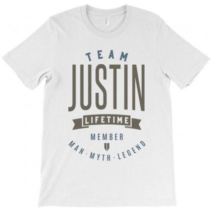 Is Your Name, Justin. This Shirt Is For You! T-shirt Designed By Chris Ceconello