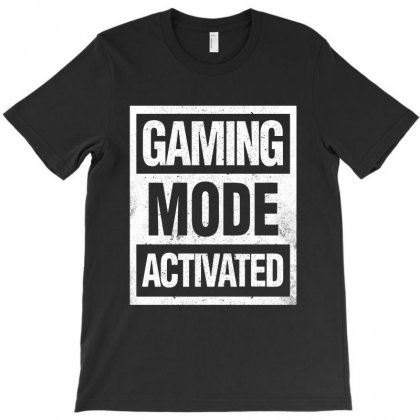 Gaming Mode Activated T-shirt Designed By Blqs Apparel
