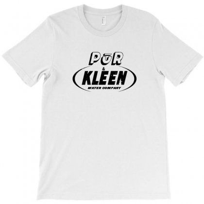 Pur & Kleen Water Company T-shirt Designed By Willo
