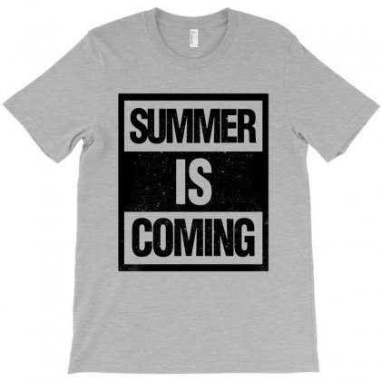 Summer Is Coming T-shirt Designed By Blqs Apparel