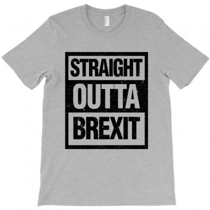 Straight Outta Brexit T-shirt Designed By Blqs Apparel
