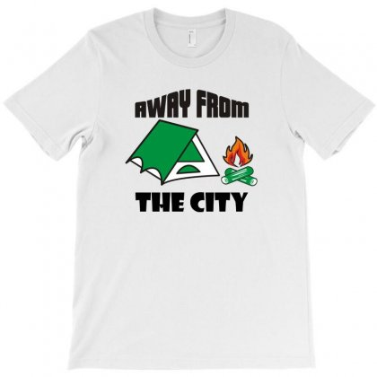 Away From The City Funny Tshirt T-shirt Designed By Alex