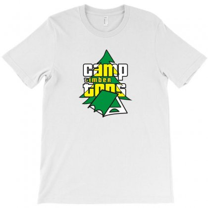 Camp Timber Tops Funny Tshirt T-shirt Designed By Alex